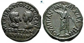 Thrace. Anchialos. Gordian III with Tranquillina AD 238-244. Bronze Æ