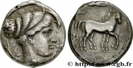 SICILY - SYRACUSE Type : Tétradrachme  Date : c. 430-420 AC.  Mint name / Town : Syracuse  Metal : silver  Diameter : 26  mm Orientation dies : 1  h. ...
