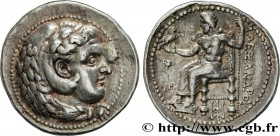 MACEDONIA - MACEDONIAN KINGDOM - ALEXANDER III THE GREAT Type : Tétradrachme  Date : c. 325-323 AC.  Mint name / Town : Babylone, Babylonie  Metal : s...