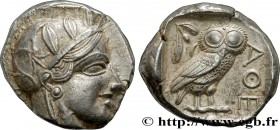 ATTICA - ATHENS Type : Tétradrachme  Date : c. 430 AC.  Mint name / Town : Athènes  Metal : silver  Diameter : 24  mm Orientation dies : 10  h. Weight...