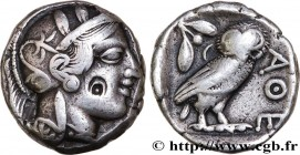 ATTICA - ATHENS Type : Tétradrachme  Date : c. 430 AC.  Mint name / Town : Athènes  Metal : silver  Diameter : 24,5  mm Orientation dies : 9  h. Weigh...