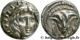 CARIA - CARIAN ISLANDS - RHODES Type : Didrachme  Date : c. 250-230 AC.  Mint name / Town : Rhodes  Metal : silver  Diameter : 19  mm Orientation dies...