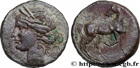 ZEUGITANA - CARTHAGE Type : Trihemishekel  Date : c. 203-201 AC.  Mint name / Town : Carthage, Zeugitane  Metal : billon  Diameter : 24,5  mm Orientat...