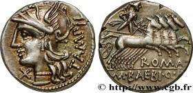 BAEBIA Type : Denier  Date : 137 AC.  Mint name / Town : Rome  Metal : silver  Millesimal fineness : 950  ‰ Diameter : 18  mm Orientation dies : 11  h...
