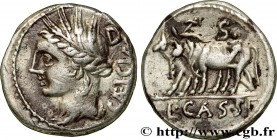 CASSIA Type : Denier  Date : 102 AC.  Mint name / Town : Rome  Metal : silver  Millesimal fineness : 950  ‰ Diameter : 17,5  mm Orientation dies : 4  ...