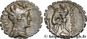 POBLICIA Type : Denier serratus  Date : 80 AC.  Mint name / Town : Rome  Metal : silver  Millesimal fineness : 950  ‰ Diameter : 17,5  mm Orientation ...