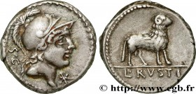 RUSTIA Type : Denier  Date : 76 AC.  Mint name / Town : Rome  Metal : silver  Millesimal fineness : 950  ‰ Diameter : 18,5  mm Orientation dies : 6  h...