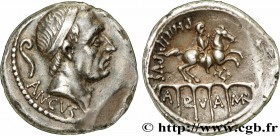 MARCIA Type : Denier  Date : 56 AC.  Mint name / Town : Rome  Metal : silver  Millesimal fineness : 950  ‰ Diameter : 18,5  mm Orientation dies : 5  h...