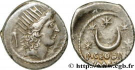 CLAUDIA Type : Denier  Date : 42 AC.  Mint name / Town : Rome  Metal : silver  Millesimal fineness : 950  ‰ Diameter : 19,5  mm Orientation dies : 1  ...
