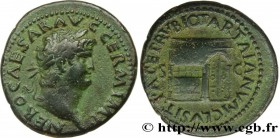 NERO Type : As  Date : 65  Mint name / Town : Rome  Metal : copper  Diameter : 28,5  mm Orientation dies : 7  h. Weight : 12,34  g. Obverse legend : N...