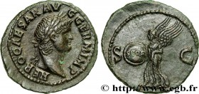 NERO Type : As  Date : 65  Mint name / Town : Rome  Metal : copper  Diameter : 29,5  mm Orientation dies : 6  h. Weight : 8,70  g. Rarity : R1  Obvers...