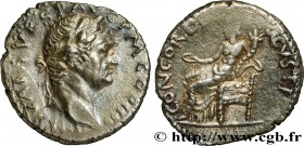 VESPASIAN Type : Denier  Date : janvier - juin  Mint name / Town : Antioche  Metal : silver  Millesimal fineness : 900  ‰ Diameter : 17,5  mm Orientat...
