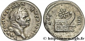 VESPASIAN Type : Denier  Date : 77  Mint name / Town : Rome  Metal : silver  Millesimal fineness : 900  ‰ Diameter : 18,5  mm Orientation dies : 6  h....