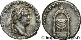 TITUS Type : Denier  Date : 80  Mint name / Town : Rome  Metal : silver  Millesimal fineness : 900  ‰ Diameter : 17  mm Orientation dies : 3  h. Weigh...