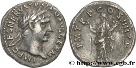 TRAJANUS Type : Denier  Date : 101  Mint name / Town : Rome  Metal : silver  Millesimal fineness : 900  ‰ Diameter : 19  mm Orientation dies : 6  h. W...