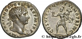 TRAJANUS Type : Denier  Date : 107  Mint name / Town : Rome  Metal : silver  Millesimal fineness : 900  ‰ Diameter : 18  mm Orientation dies : 7  h. W...