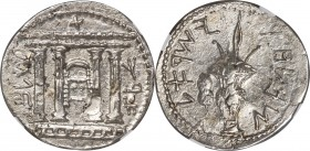 JUDAEA. Bar Kokhba Revolt (AD 132-135). AR sela (27mm, 14.50 gm, 1h). NGC MS 3/5 - 3/5, overstruck. Dated Year 2 (AD 133/4). Jerusalem (Paleo-Hebrew),...
