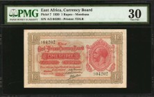 EAST AFRICA. Currency Board. 1 Rupee, 1920. P-7. PMG Very Fine 30.