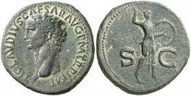 (41-42 d.C.). Claudio. As. (Spink 1861) (Co. 84) (RIC. 100). 12,48 g. MBC.