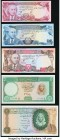 World (Afghanistan, Egypt, Lebanon) Group Lot of 10 Examples Crisp Uncirculated. Corner stain on Lebanon 100 Livres.  HID09801242017  © 2020 Heritage ...