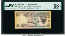 Bahrain Currency Board 100 Fils 1964 Pick 1a PMG Superb Gem Unc 68 EPQ.   HID09801242017  © 2020 Heritage Auctions | All Rights Reserve
