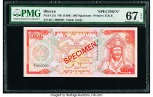 Bhutan Royal Monetary Authority 500 Ngultrum ND (1994) Pick 21s Specimen PMG Superb Gem Unc 67 EPQ.   HID09801242017  © 2020 Heritage Auctions | All R...