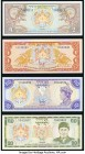 World (Bhutan, Japan, South Korea) Group Lot of 7 Examples About Uncirculated-Crisp Uncirculated.   HID09801242017  © 2020 Heritage Auctions | All Rig...