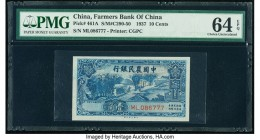 China Farmers Bank of China 10 Cents ND (1937) Pick 461A S/M#C290-50 PMG Choice Uncirculated 64 EPQ.   HID09801242017  © 2020 Heritage Auctions | All ...