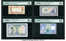 World (China, Vietnam, Laos and more) Group Lot of 9PMG Graded Examples. PMG Superb Gem Unc 67 EPQ; Gem Uncirculated 65 EPQ (2); Choice Uncirculated 6...