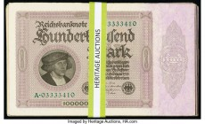 Germany Imperial Bank Note 100,000 Mark 1.2.1923 Pick 83a 102 Examples Very Good-Extremely Fine.   HID09801242017  © 2020 Heritage Auctions | All Righ...