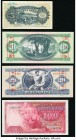 World (Hungary, Latvia) Group Lot of 4 Examples Fine-Crisp Uncirculated. The 5 Lati has a tear and annotations.  HID09801242017  © 2020 Heritage Aucti...