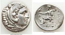 MACEDONIAN KINGDOM. Alexander III the Great (336-323 BC). AR tetradrachm (26mm, 17.15 gm, 2h). Choice XF. Posthumous issue of Amphipolis, ca. 315-294 ...