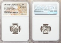 MACEDONIAN KINGDOM. Alexander III the Great (336-323 BC). AR drachm (16mm, 4.31 gm, 1h). NGC MS 4/5 - 4/5. Posthumous issue of Magnesia, under Lysimac...