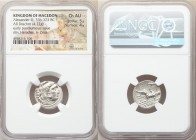 MACEDONIAN KINGDOM. Alexander III the Great (336-323 BC). AR drachm (17mm, 4.22 gm, 2h). NGC Choice AU 5/5 - 4/5. Posthumous issue of Abydus, ca. 310-...
