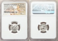 MACEDONIAN KINGDOM. Alexander III the Great (336-323 BC). AR drachm (17mm, 4.41 gm, 12h). NGC Choice AU 5/5 - 4/5. Posthumous issue of 'Colophon', ca....