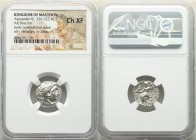 MACEDONIAN KINGDOM. Alexander III the Great (336-323 BC). AR drachm (16mm, 12h). NGC Choice VF. Early posthumous issue of 'Colophon', ca. 310-301 BC. ...