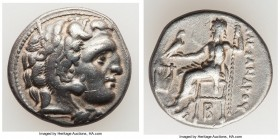 MACEDONIAN KINGDOM. Alexander III the Great (336-323 BC). AR drachm (17mm, 4.22 gm, 12h). VF. Late lifetime-early posthumous issue of 'Colophon', ca. ...