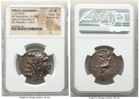 THRACE. Mesambria. Ca. 125-65 BC. AR tetradrachm (29mm, 16.26 gm, 12h). NGC Choice XF 5/5 - 4/5. Late posthumous issue in the name and types of Alexan...