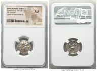 THRACIAN KINGDOM. Lysimachus (305-281 BC). AR drachm (17mm, 12h). NGC AU. Colophon, 297/6 BC. Head of Heracles right, wearing lion skin headdress, paw...