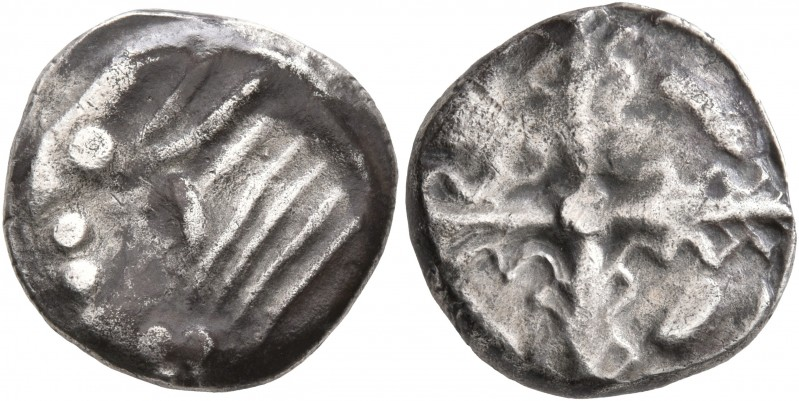 CELTIC, Southern Gaul. Uncertain tribe. Circa 2nd century BC. Drachm (Silver, 16...