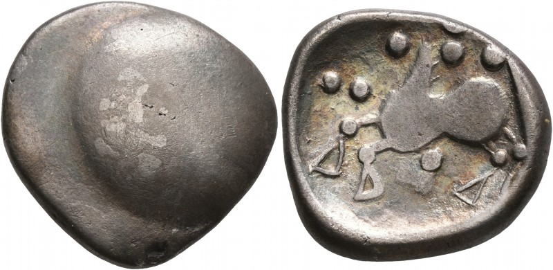 CELTIC, Middle Danube. Uncertain tribe. 2nd-1st centuries BC. Tetradrachm (Silve...