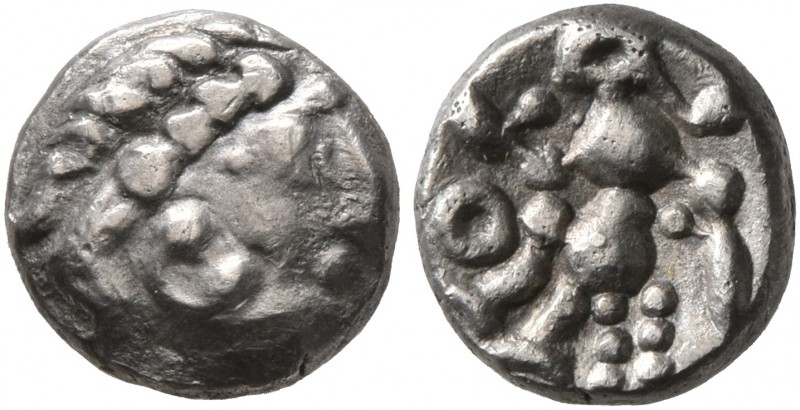 CELTIC, Middle Danube. Uncertain tribe. 2nd century BC. 'Obol' (Silver, 8 mm, 0....