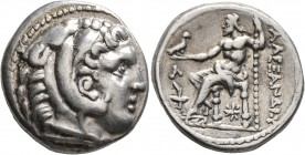 KINGS OF MACEDON. Alexander III 'the Great', 336-323 BC. Tetradrachm (Silver, 26 mm, 17.16 g, 3 h), Amphipolis, struck under Kassander, as regent or K...