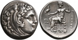 KINGS OF MACEDON. Alexander III 'the Great', 336-323 BC. Tetradrachm (Silver, 26 mm, 17.22 g, 2 h), Miletos, struck under Asandros, circa 323-319. Hea...
