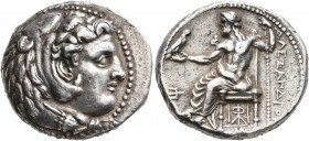 KINGS OF MACEDON. Alexander III 'the Great', 336-323 BC. Tetradrachm (Silver, 25 mm, 17.19 g, 1 h), Babylon, struck under Stamenes or Archon, circa 32...