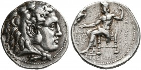 KINGS OF MACEDON. Alexander III 'the Great', 336-323 BC. Tetradrachm (Silver, 27 mm, 17.08 g, 11 h), Babylon I, struck under Seleukos I, circa 311-300...