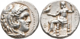 KINGS OF MACEDON. Alexander III 'the Great', 336-323 BC. Tetradrachm (Silver, 25 mm, 17.19 g, 9 h), Babylon I, struck under Seleukos I, circa 311-300 ...