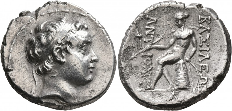 SELEUKID KINGS OF SYRIA. Antiochos, son of Seleukos IV, 175 BC. Tetradrachm (Sil...