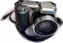 DIGITAL CAMERA, Olympus SP-600UZ, 12 Megapixel, takes 4 AA batteries, with wire to transfer pictures to computer. I bought this a few years ago to pho...