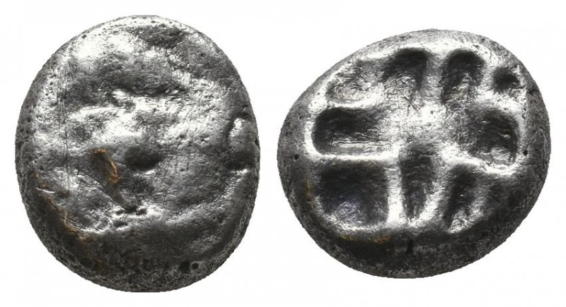 Parion AR Drachm, c. 500-475 BC  Condition: Very Fine  Weight: 3.20 gr Diameter:...